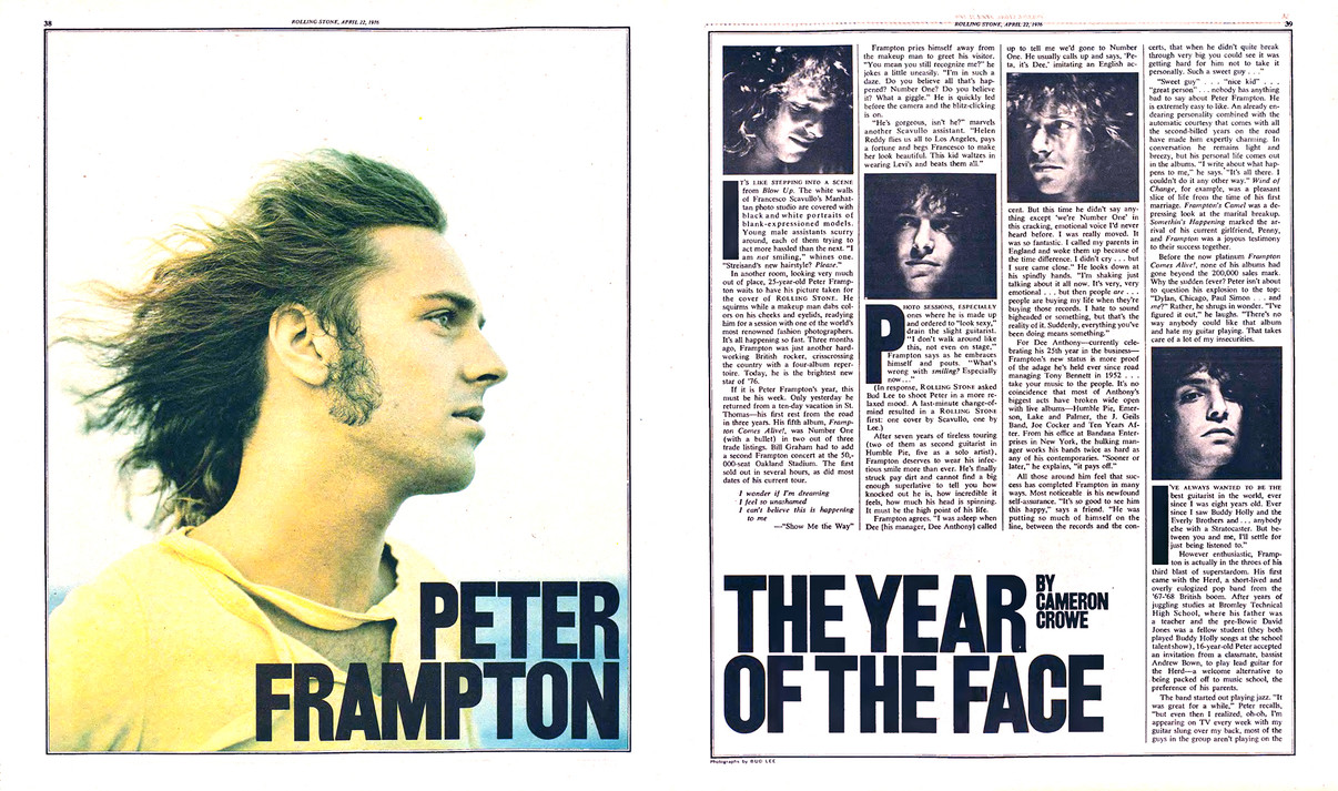 1976-04-22 – Issue 211 – Peter Frampton