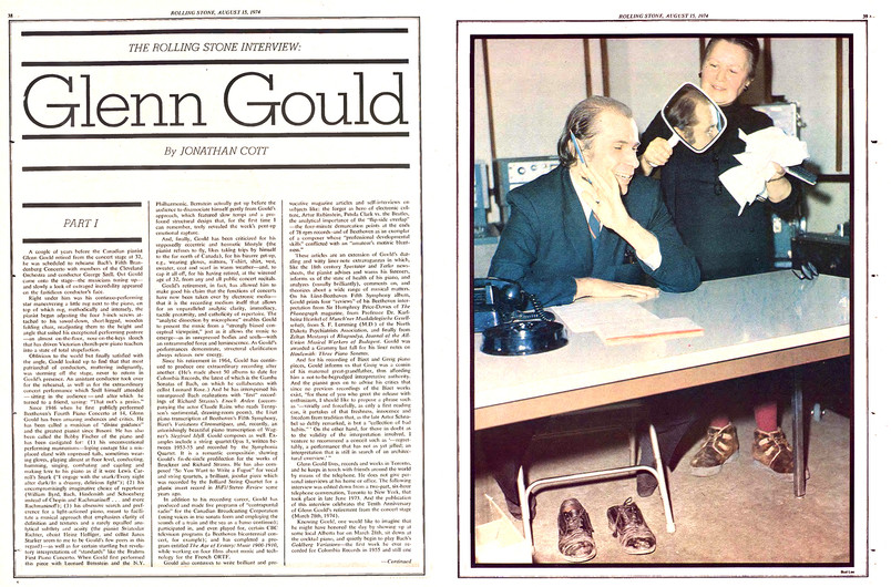 1974-08-15 – Issue 167 – Glenn Gould Int