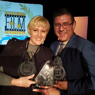 🏆 🏆 🏆  Three Wins at Prison City Film Festival, Texas including Best Film