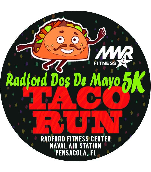 NAS Pensacola Taco 5K Run Medal