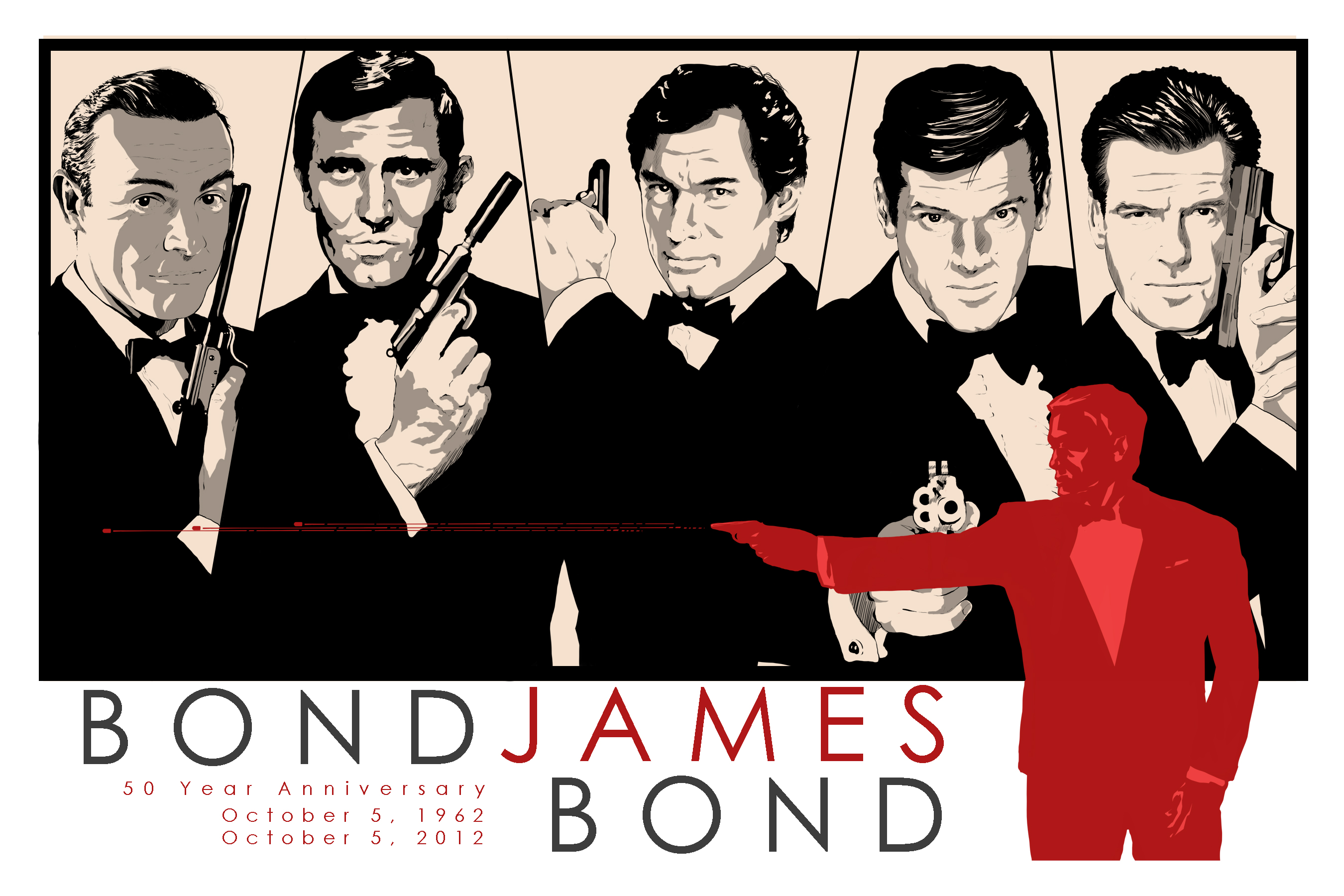 James Bond, 50th Anniversary