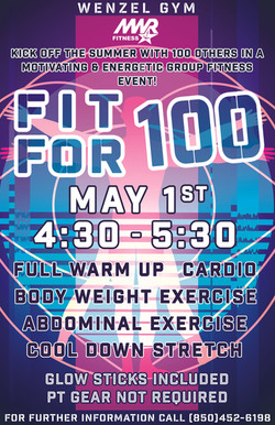 Fit For 100 Group Work Out