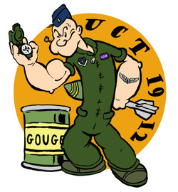 USAF Patch Design; Popeye
