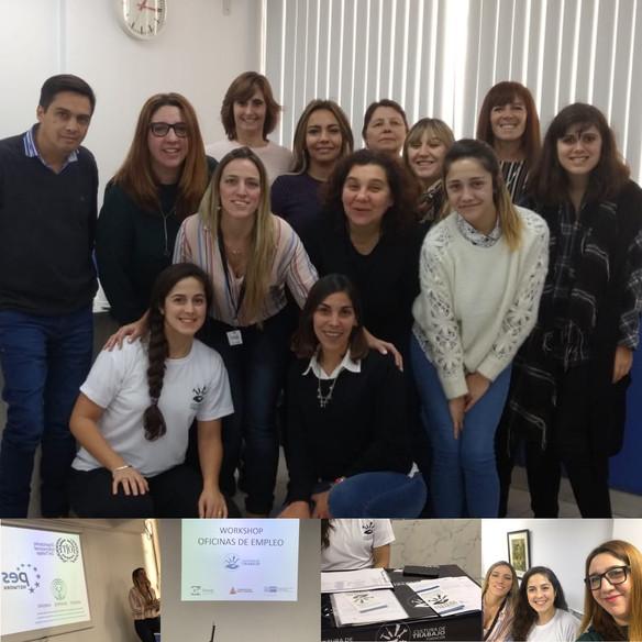 Fundación Cultura de Trabajo realizó una jornada de capacitación para funcionarios de las oficinas d