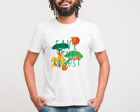 Save the Forest T-Shirt Design