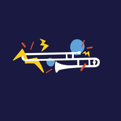 Musical Instruments Graphics Illustration