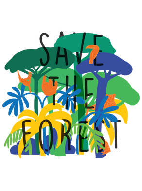 Save the Forest T-shirt Design 2020