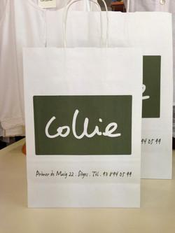 COLLIE SITGES · Diseño de bolsas