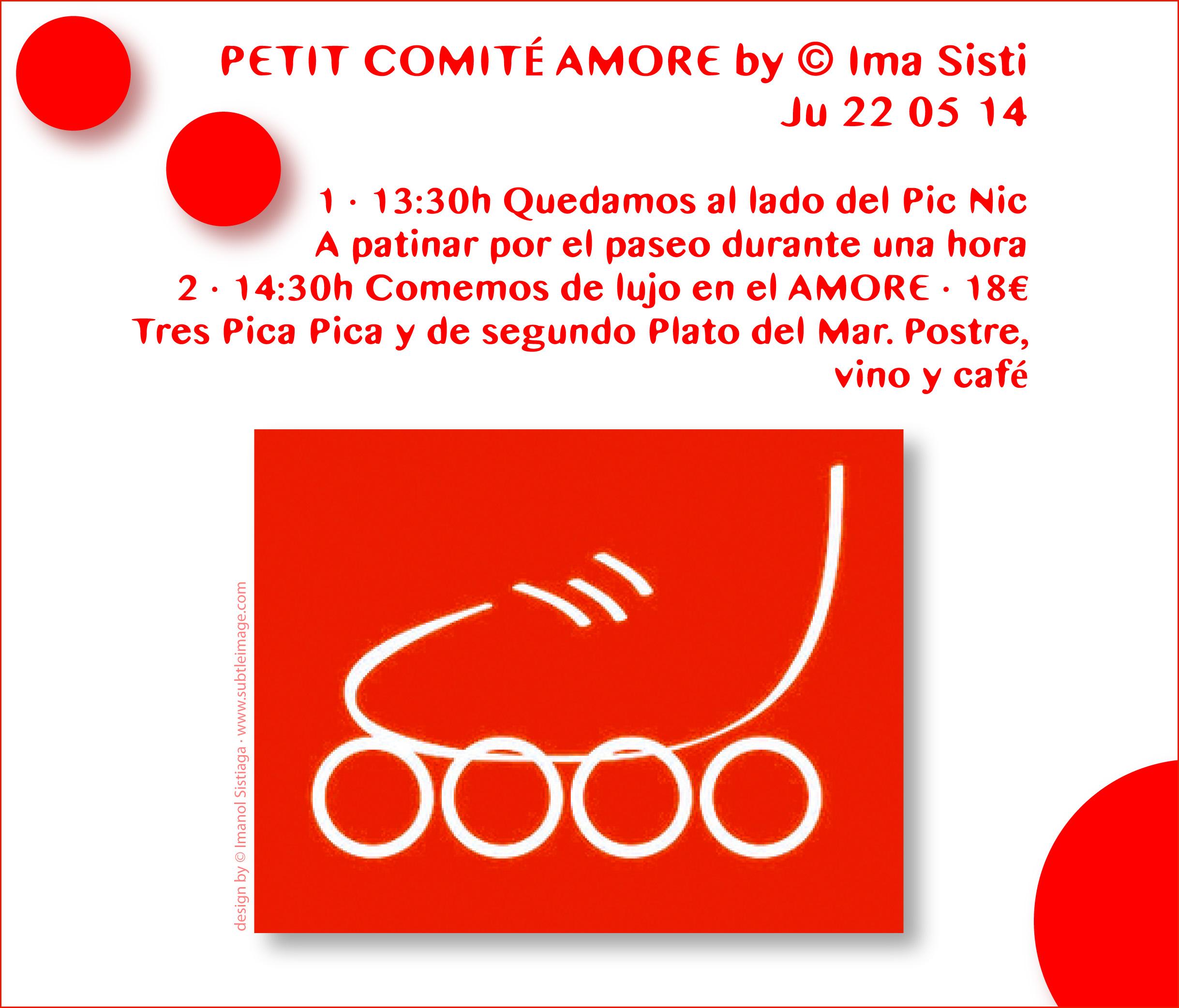 PETIT COMITÉ · Diseño