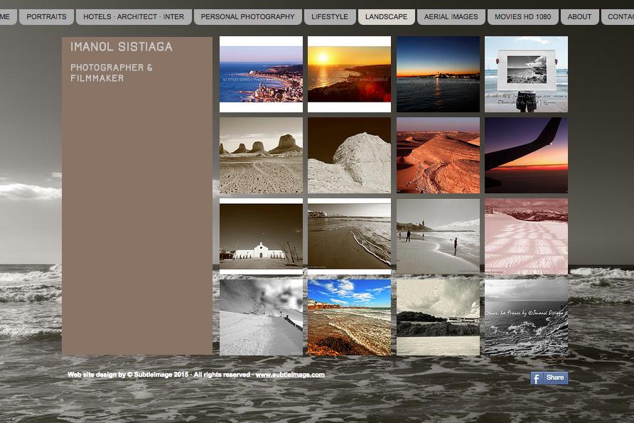 WEB FOTÓGRAFO