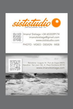 SISTISTUDIO · Diseño Tarjetas