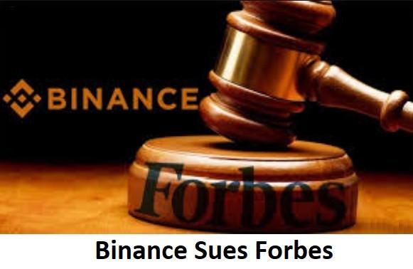 Binance Sues Forbes