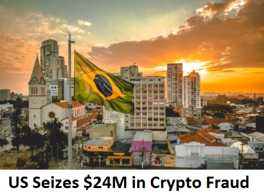 US Seizes $24M in Crypto Fraud