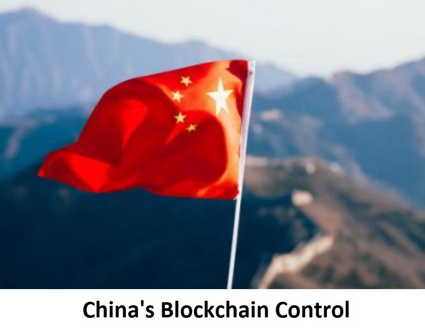 China's Blockchina Control