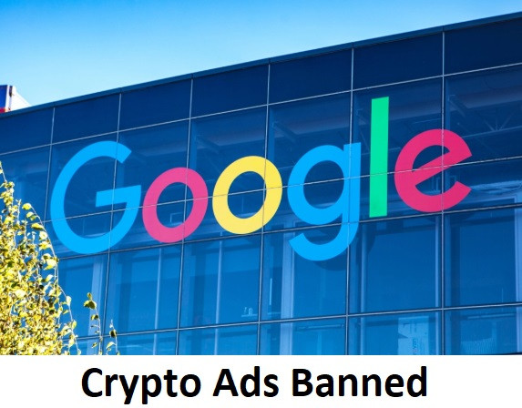 Crytpo Ads Banned