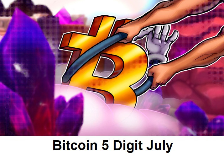 Bitcoin 5 Digit July