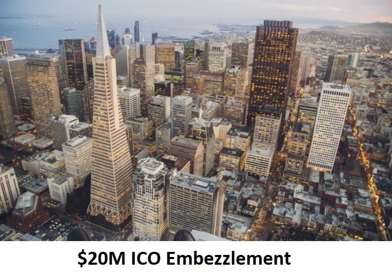 $20M ICO Embezzlement
