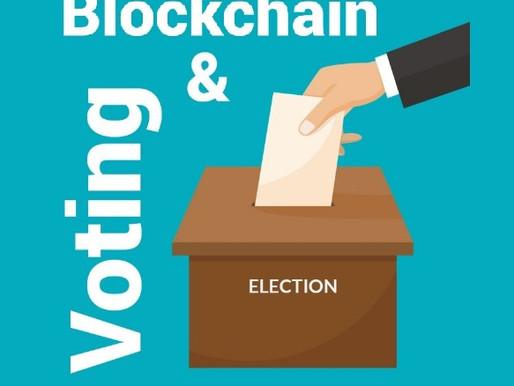 Vote by Blockchain