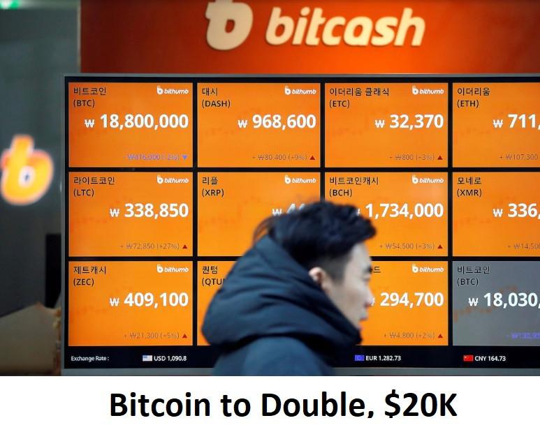 Bitcoin to Double, $20K