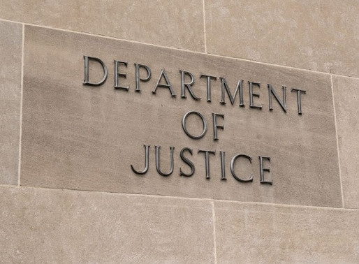 DOJ Laundry Indictment