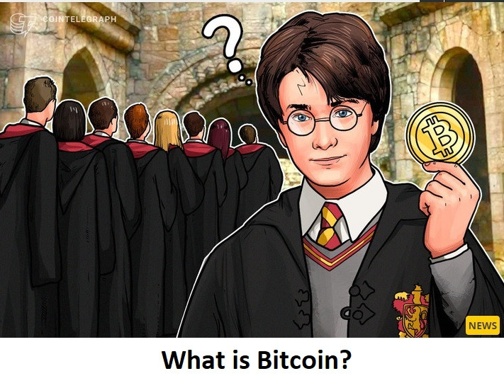 Harry... What is Bitcoin?