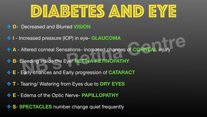 #worlddiabetesday . Get you #eyecheckup before it gets too late.