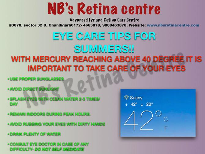 Summer Care Tips for Eye !!!