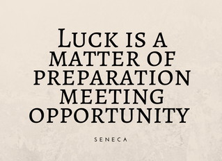 The Work-Luck Balance