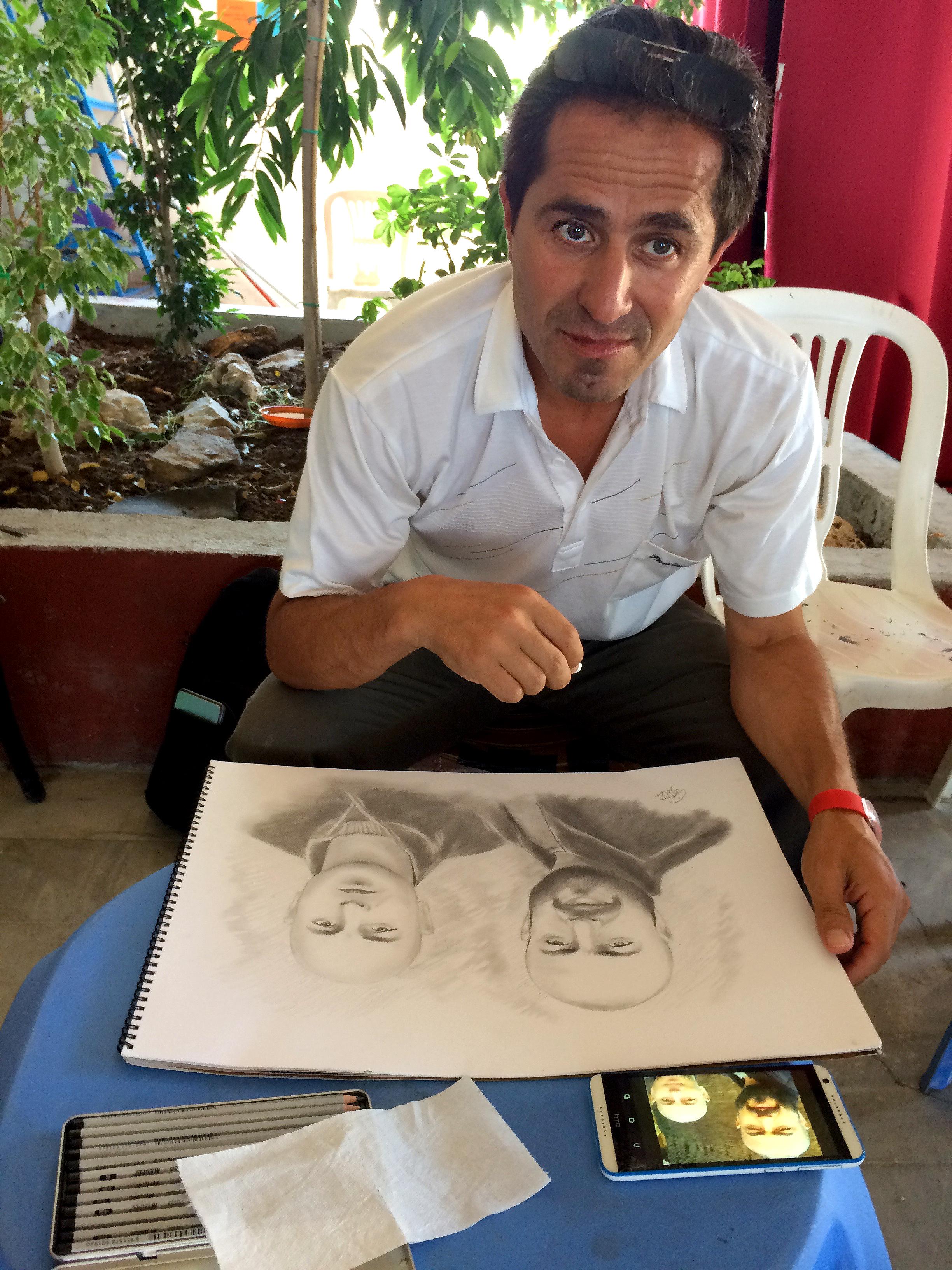 Mahmud the muralist and artist