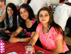 Teens from Syria