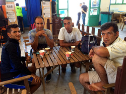 Ardeshir and friends from Iran