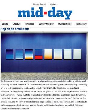 Multi-city art tour across eight locations as Art Fervour turned 2
