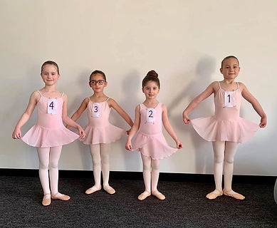 MSB Ballet Pre-Primary Examination group