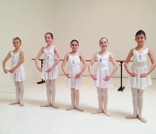 Ballet Preparatory B Examination Group 2