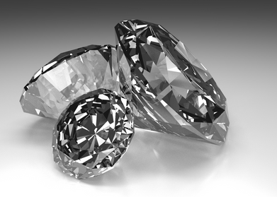 Diamonds Render
