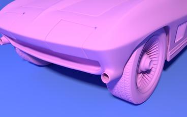 Corvette Render