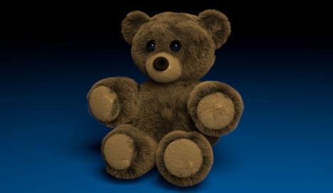 Stuffed Bear Render