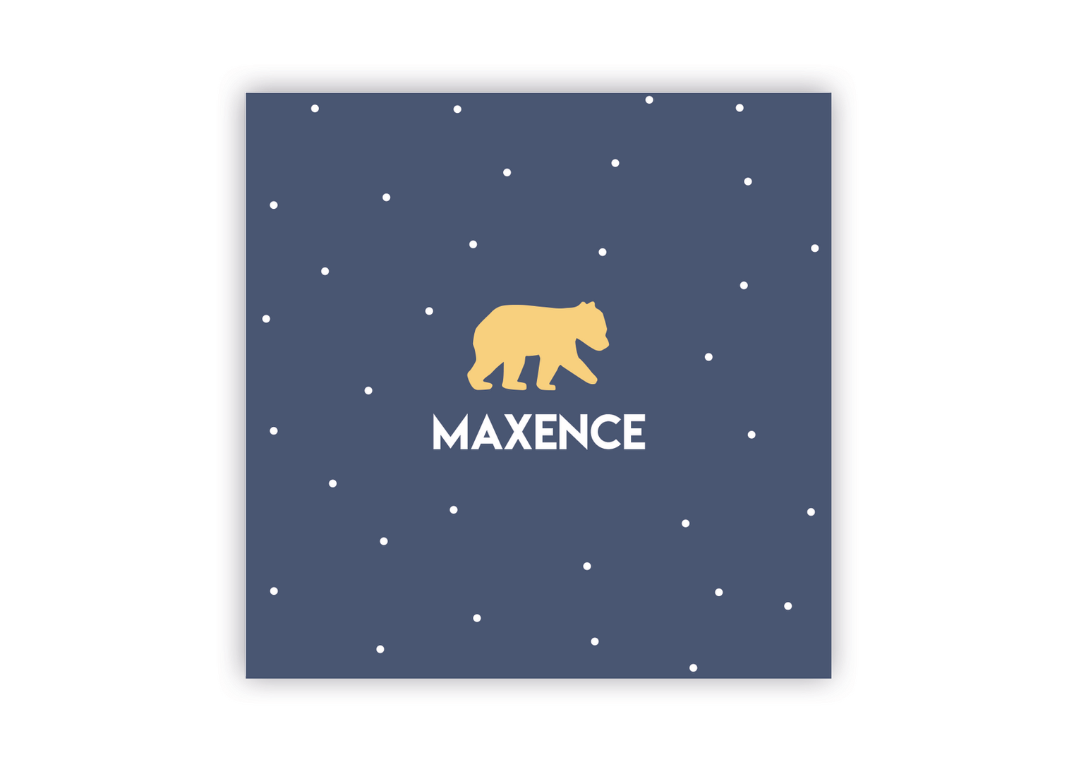 Annonce naissance Maxence