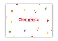 Annonce naissance Clémence