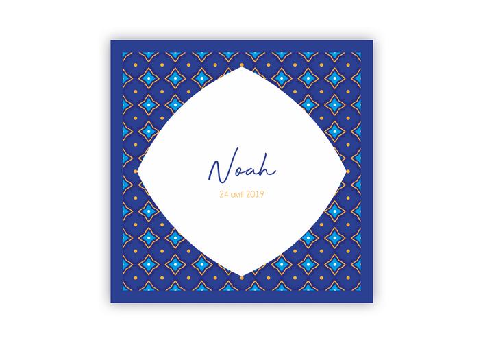 Annonce naissance Noah