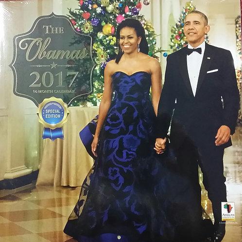 The Obamas 2017 Calendar