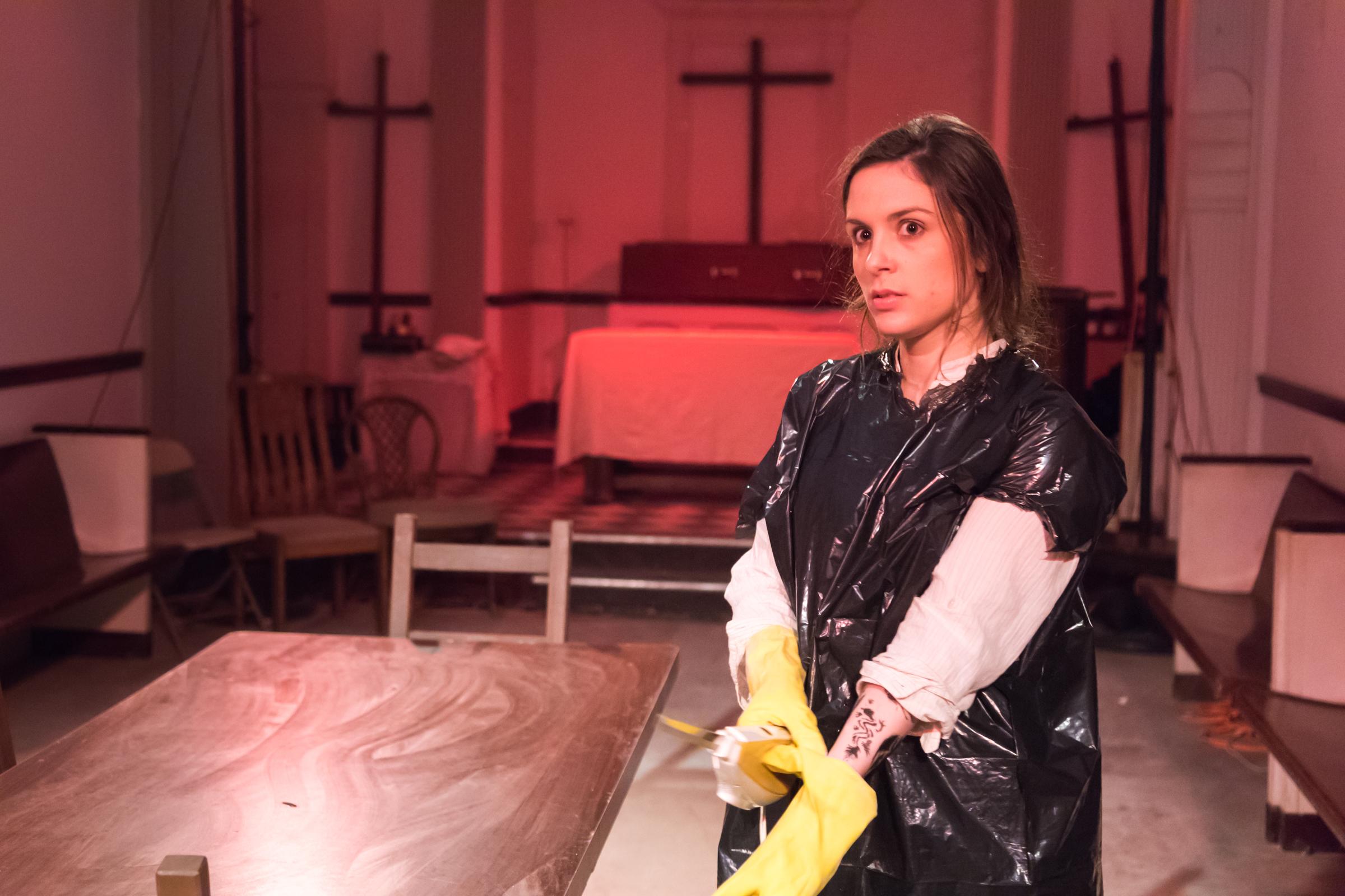 Sara Fellini as Maeve