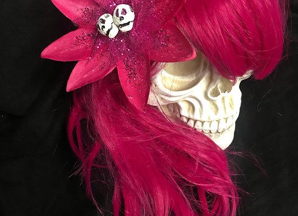 Pink Sparkle Burst Hair Clip