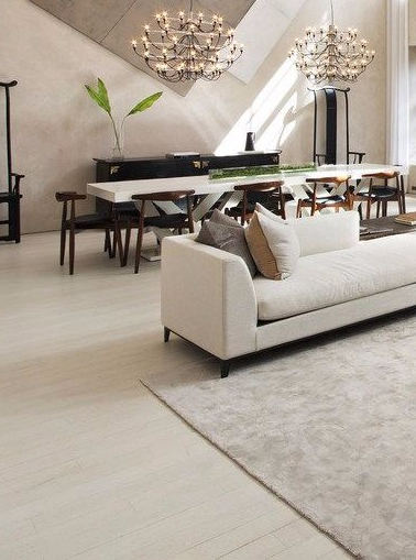 Elegance and minimalism shared one place