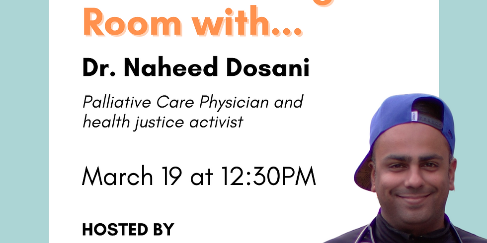 In the Waiting Room with Naheed Dosani