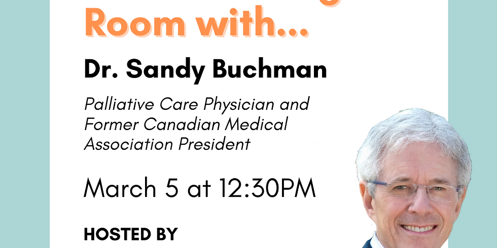 In the Waiting Room with Sandy Buchman