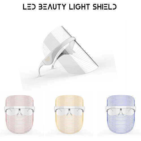 LED Beauty Light Shield (3 LED Colours in 1 Device)