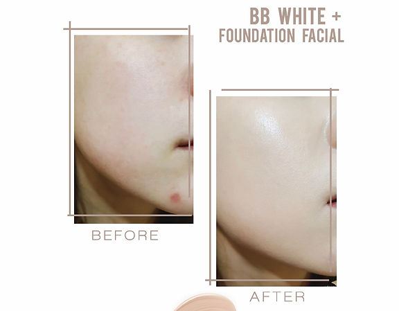 BB White+ Foundation Facial - Semi Permanent Make-up