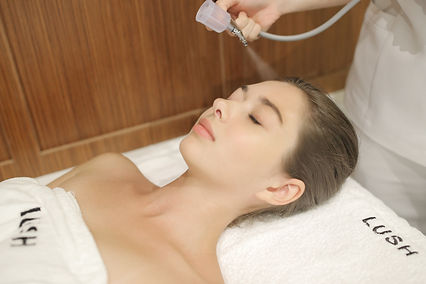 oxygen facial, oxygen infusion, hyperbaric oxygen facial