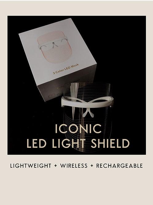 ICONIC LED LIGHT SHIELD